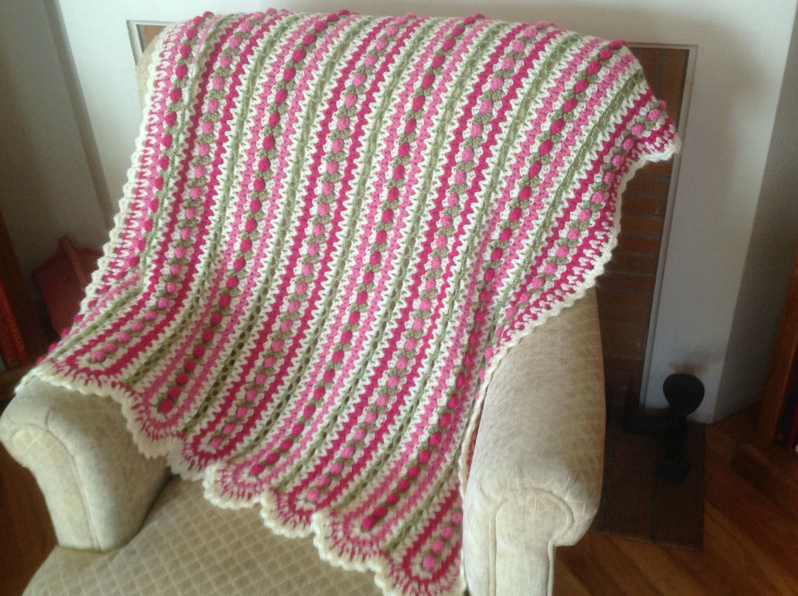 Crochet Patterns Mile A Minute : Mile a minute crochet afghan CROCHET-MILE-A-MINUTE Pinterest