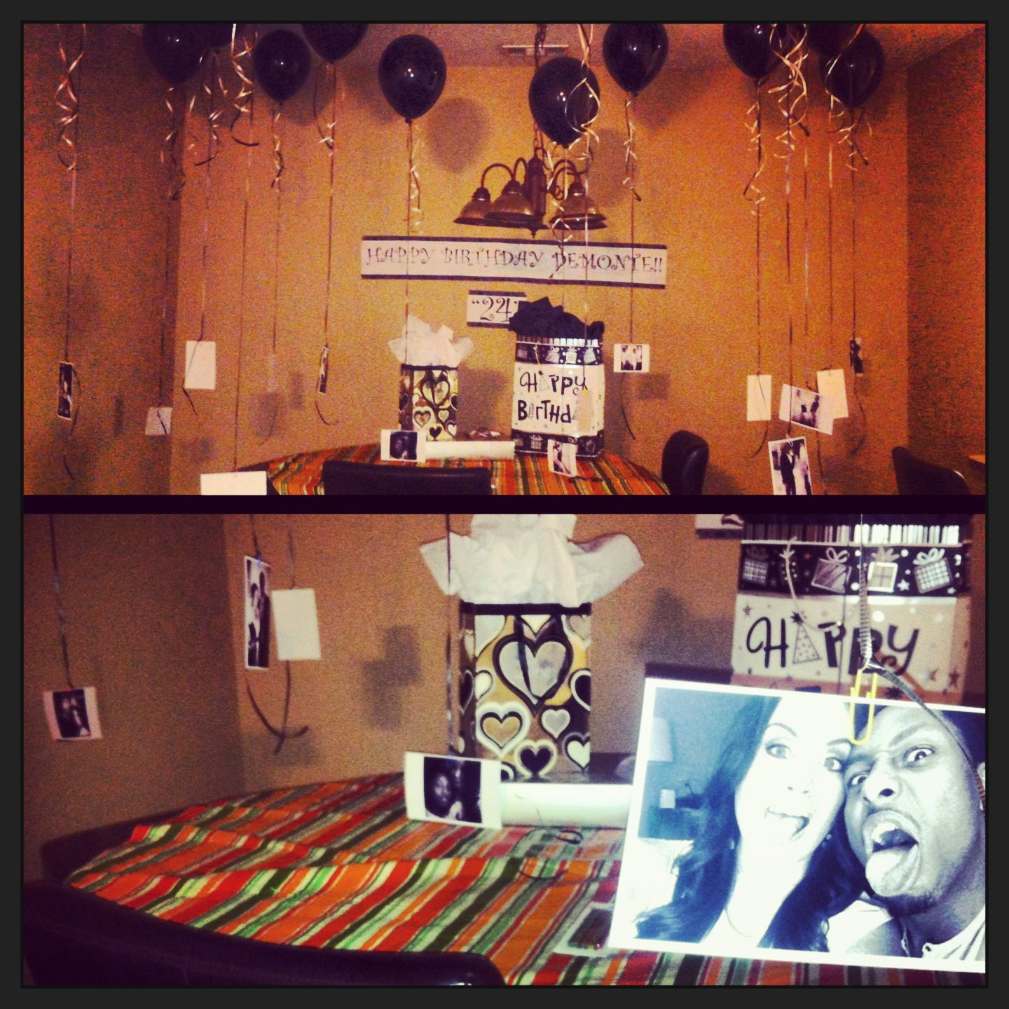 Boyfriend birthday decorations i want a love like that for Room decor ideas for birthday