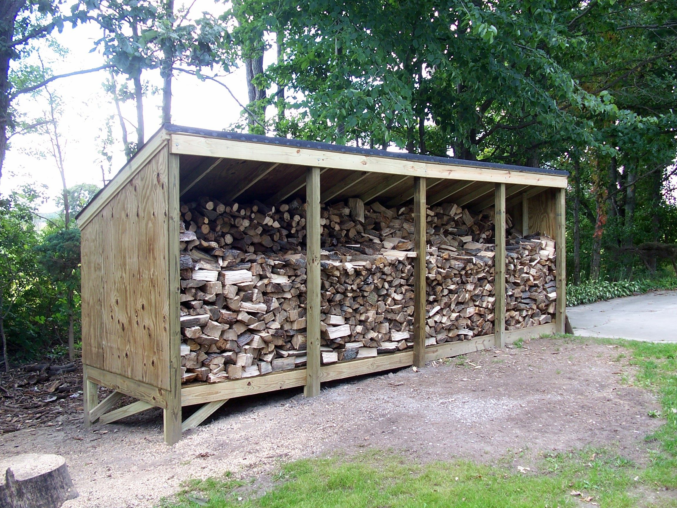 Bels aston wood shed must see for Wood storage shed