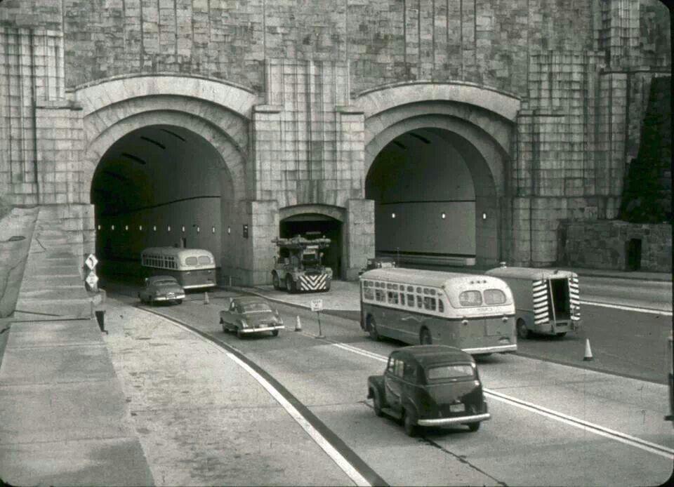 Lincoln Tunnel Noo Yorke Pinterest