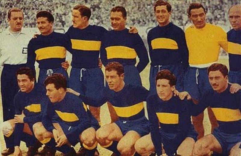 CLUB ATLÉTICO BOCA JUNIORS,1954. | Boca Jrs. Es Una Pasion ...