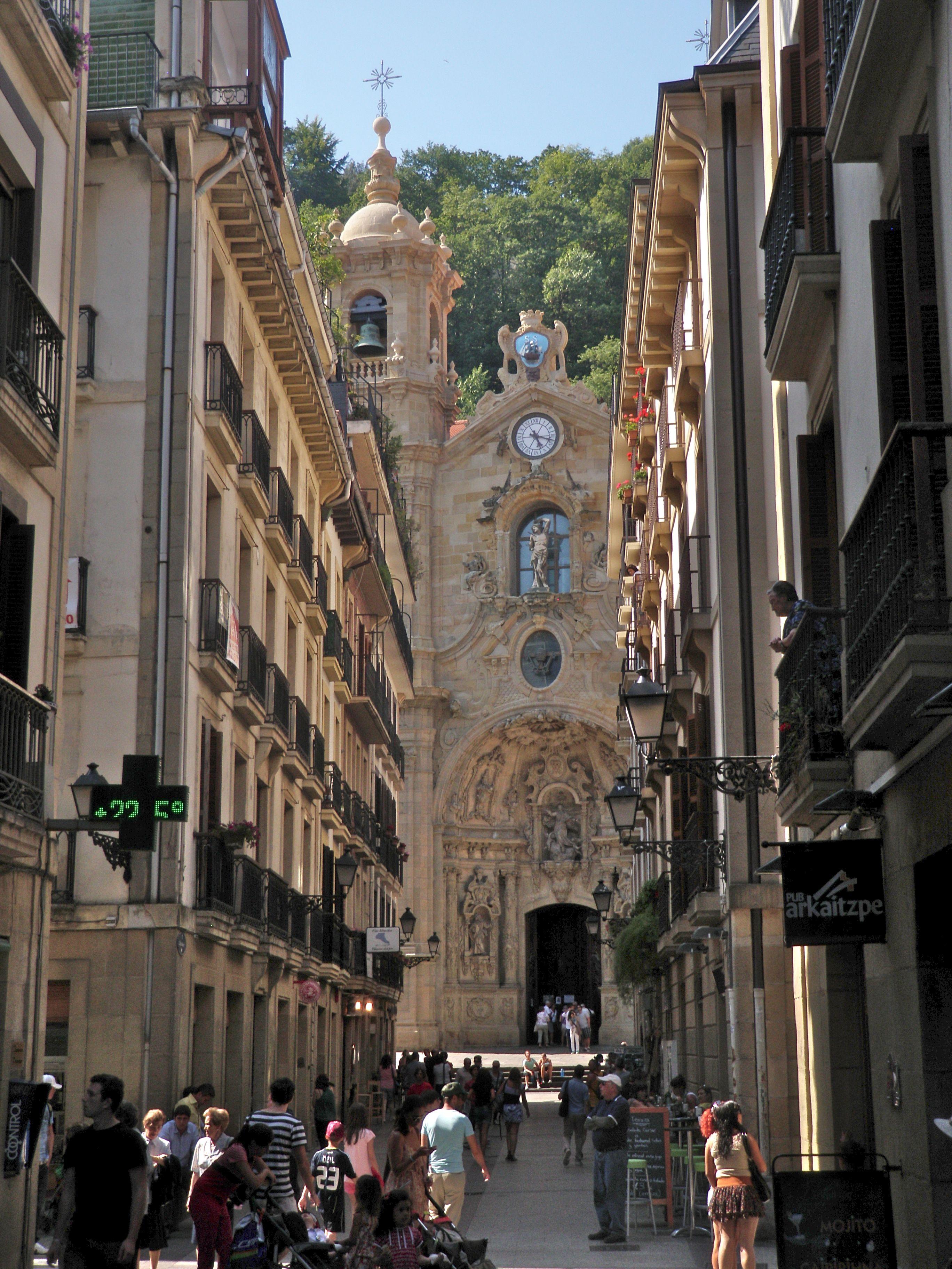 San sebasti n pa s vasco basque vascos pinterest - San sebastian pais vasco ...