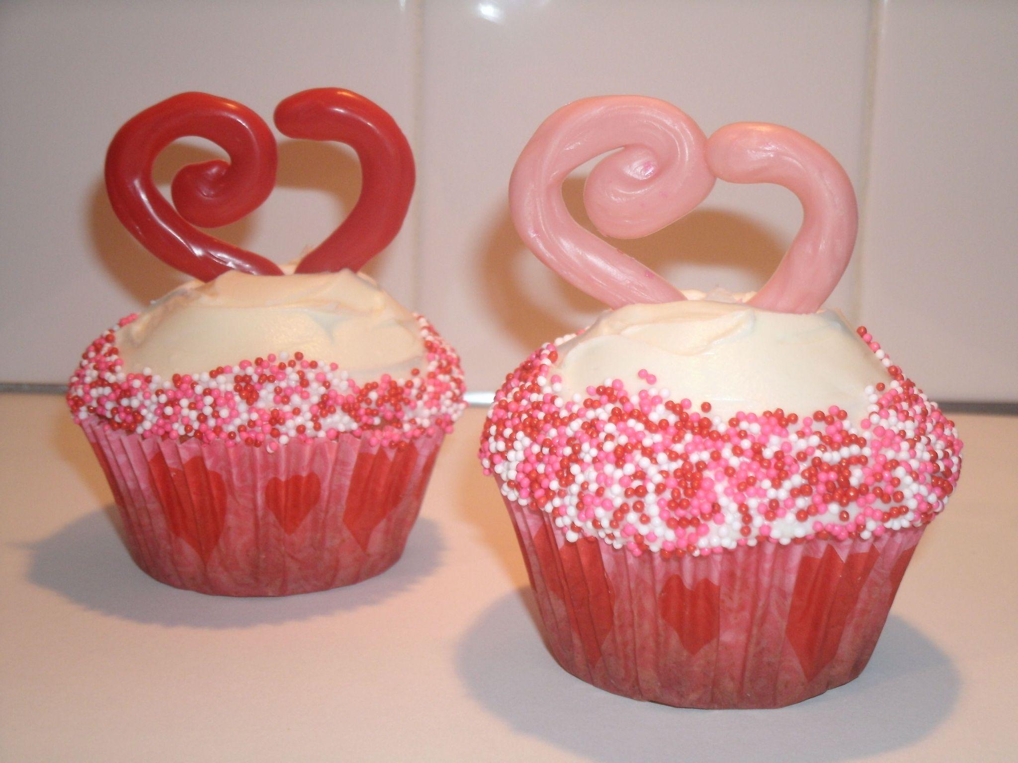 valentine cupcake tutorial