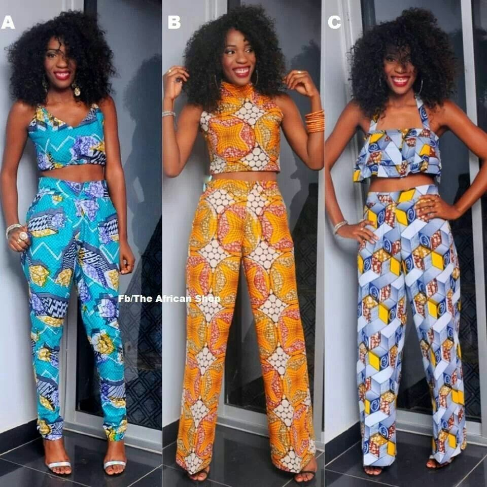 African Fashion Ankara Styles Pinterest