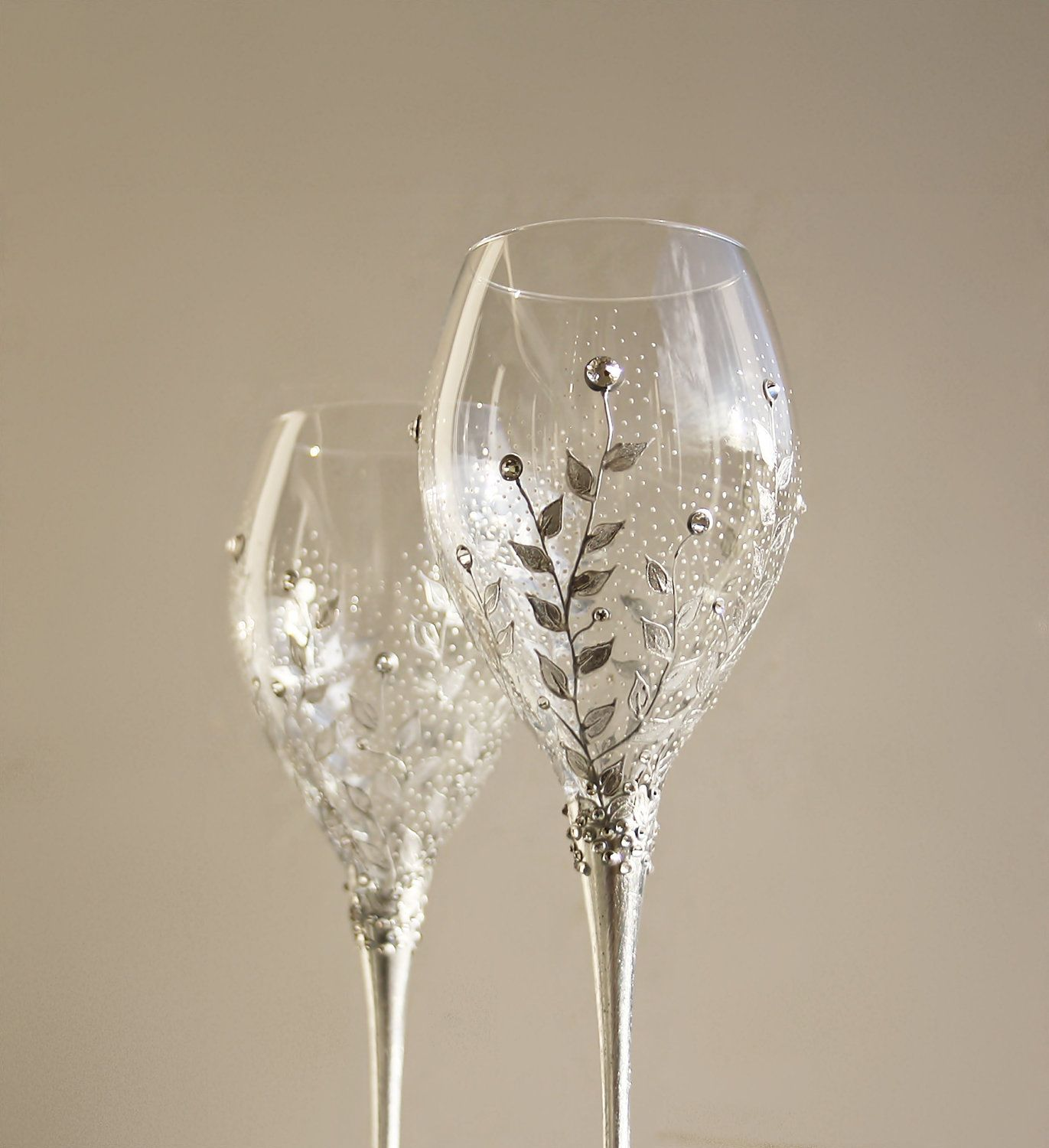Hand Crafted Wine Glasses Style Pinterest