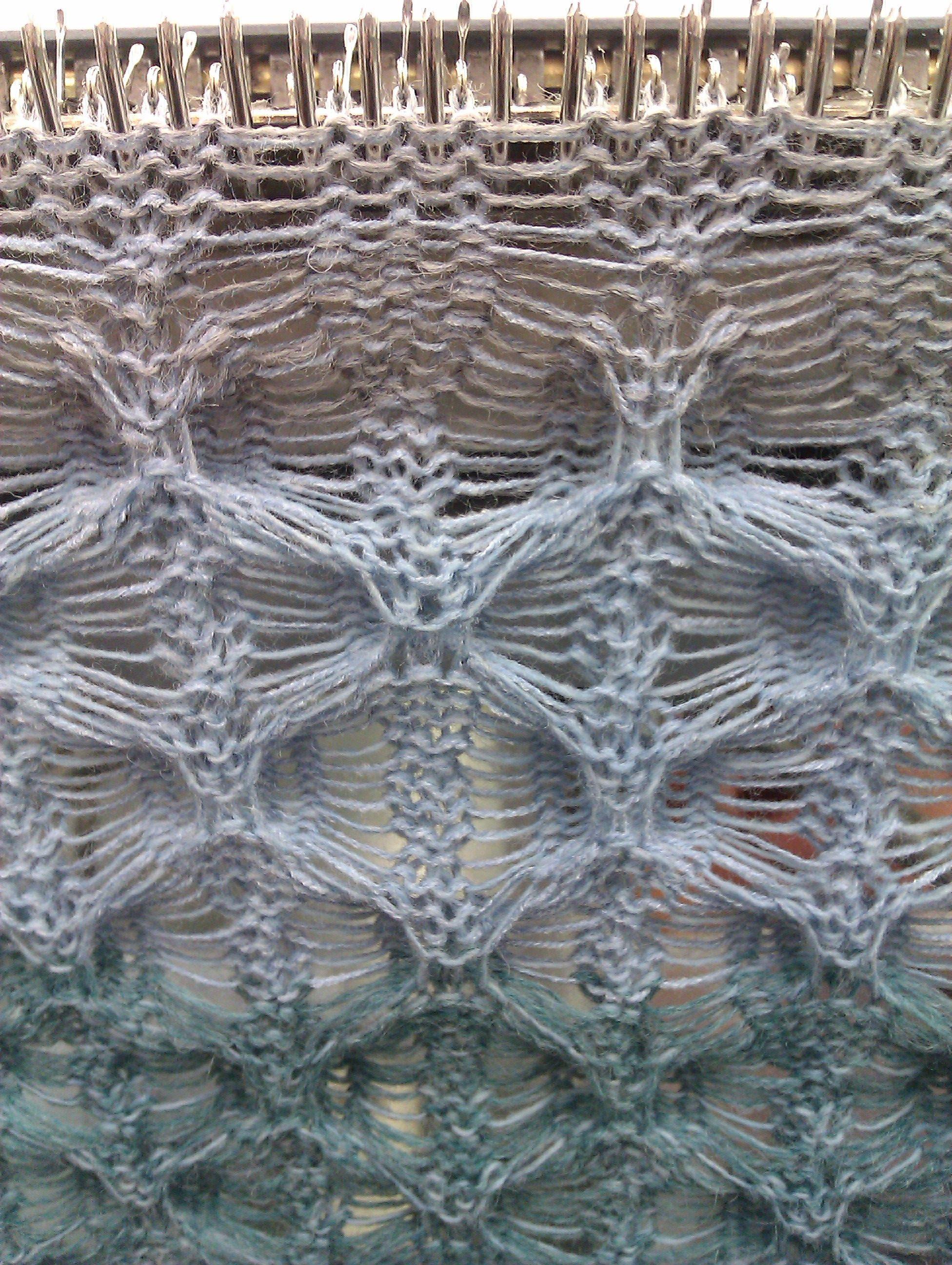 Knitting Machine Pattern : Tuck Knitting Machine knitting Pinterest