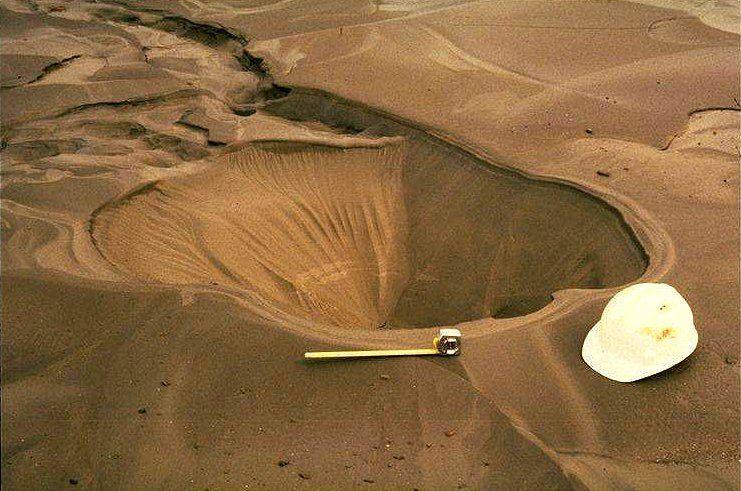 Sand boil geographers lifelist pinterest for Soil liquefaction
