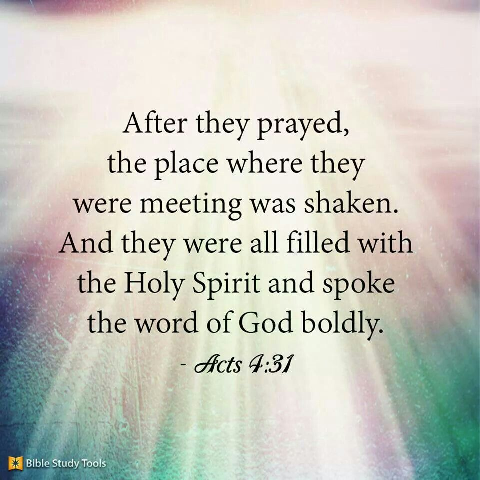 Image result for Acts 4:31