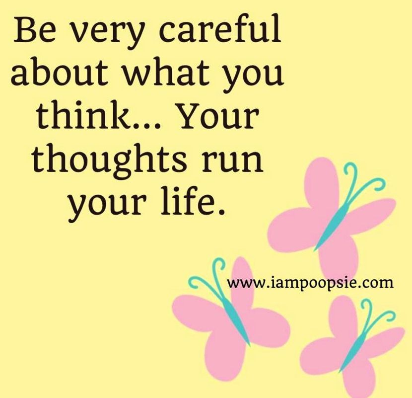 Thoughts quote via www...