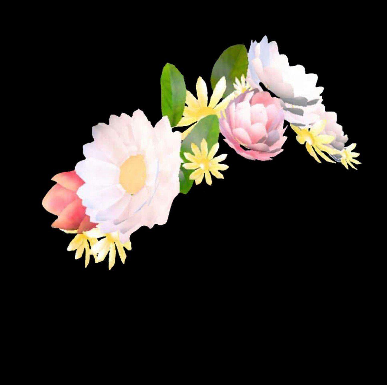 Flower crown transparent background crazywidowfo flower crown transparent background izmirmasajfo