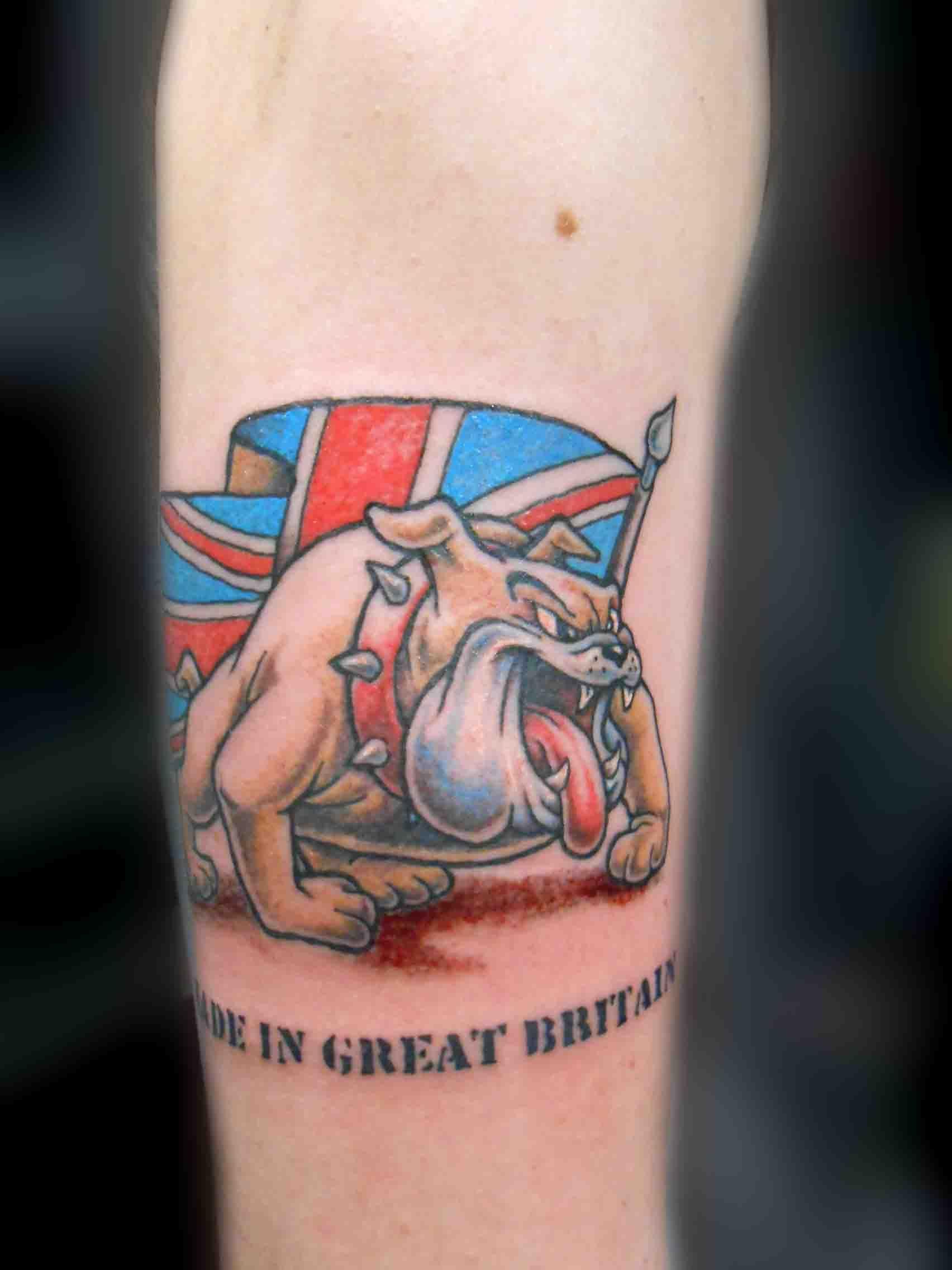 british union jack us flag