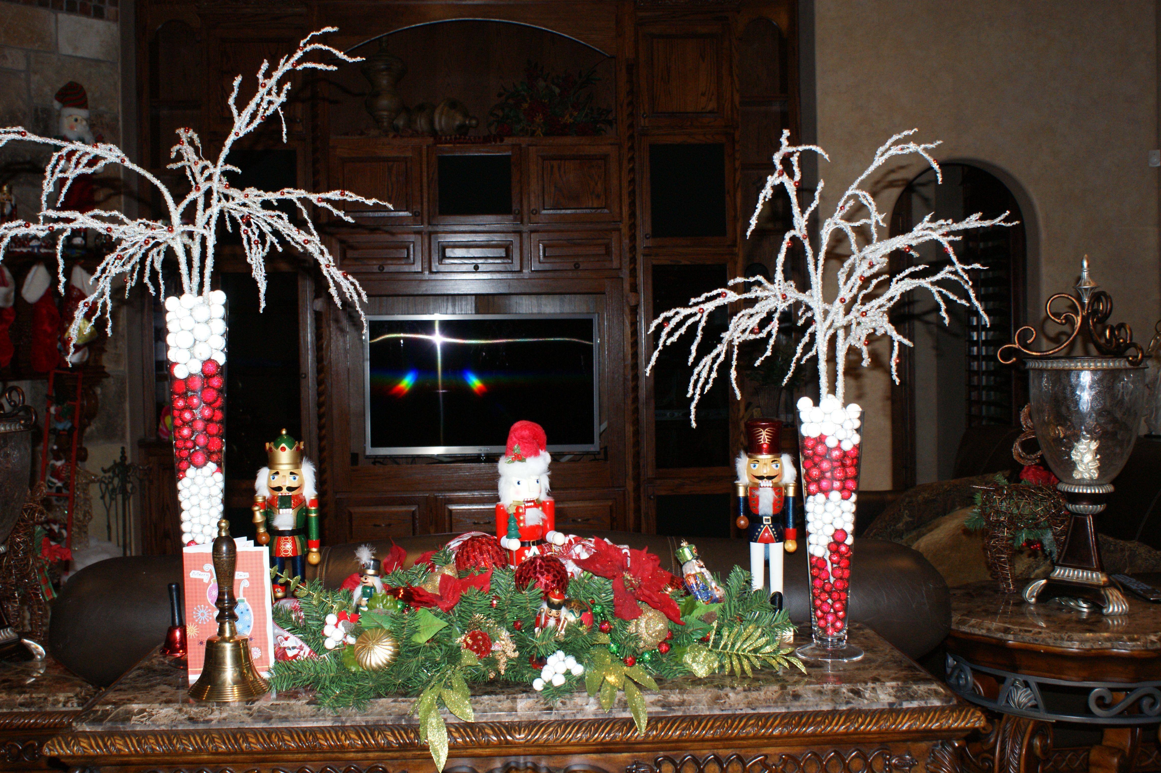 nutcracker decor  Christmas Decorations by Lisa  Pinterest ~ 222853_Christmas Decorating Ideas With Nutcrackers