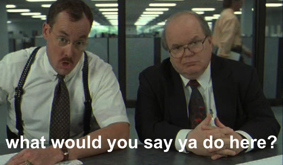Office space movie quotes quotesgram for Images of office space
