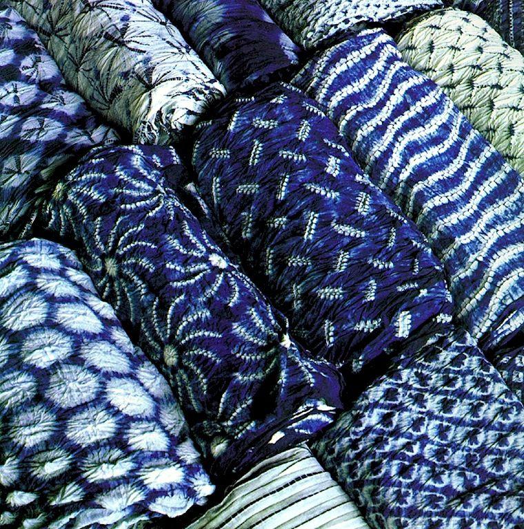 Shibori On Pinterest Indigo Indigo Walls And Cotton
