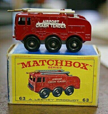 Cars Matchbox Crash