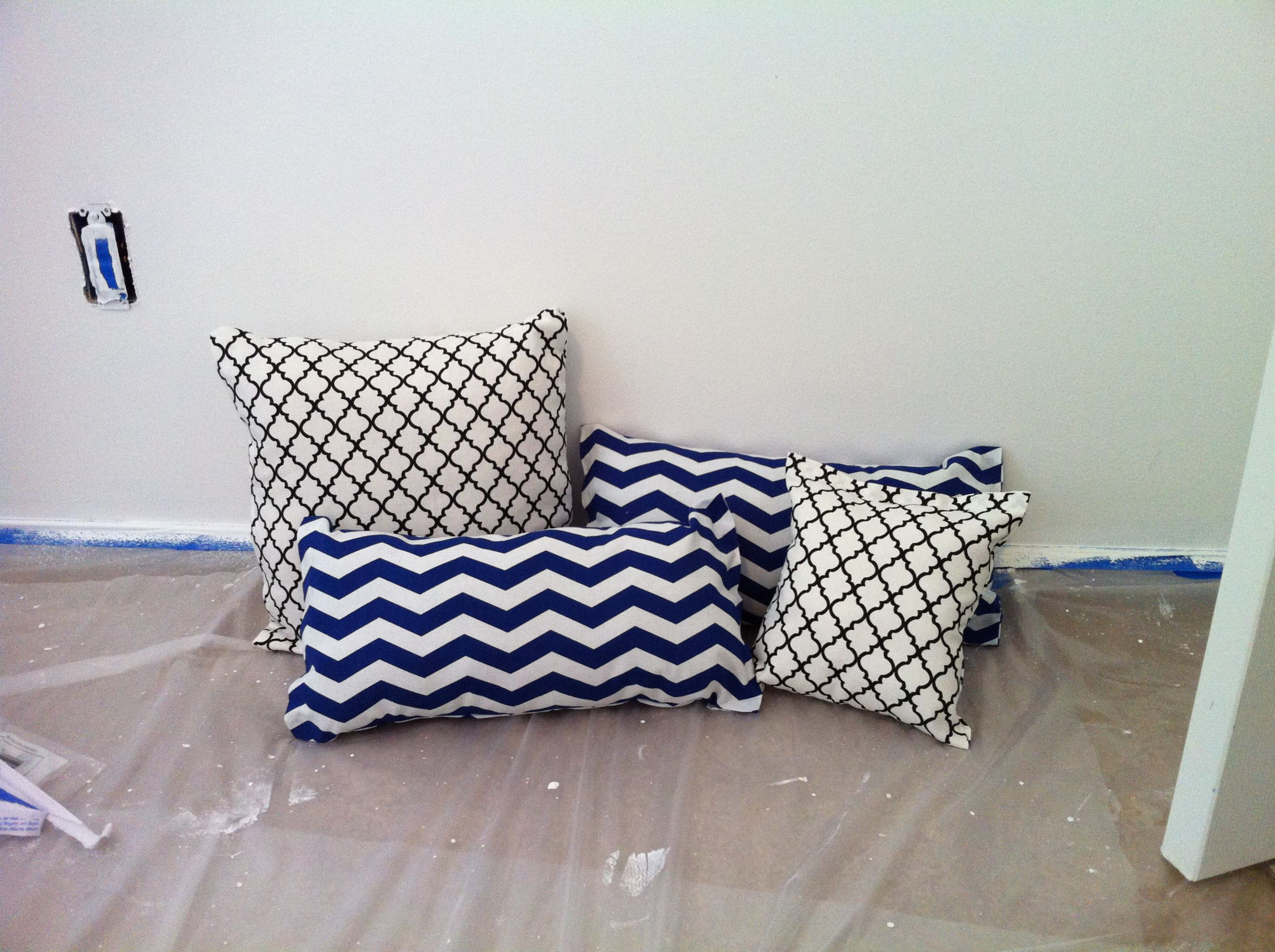 Diy Throw Pillow No Sew : No Sew Throw Pillows DIY Pinterest