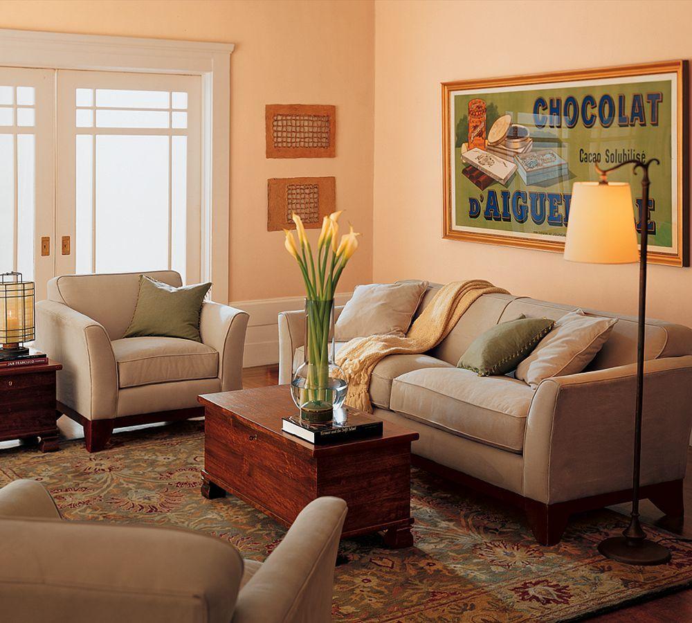 Living Room Pottery Barn Dream Home Pinterest