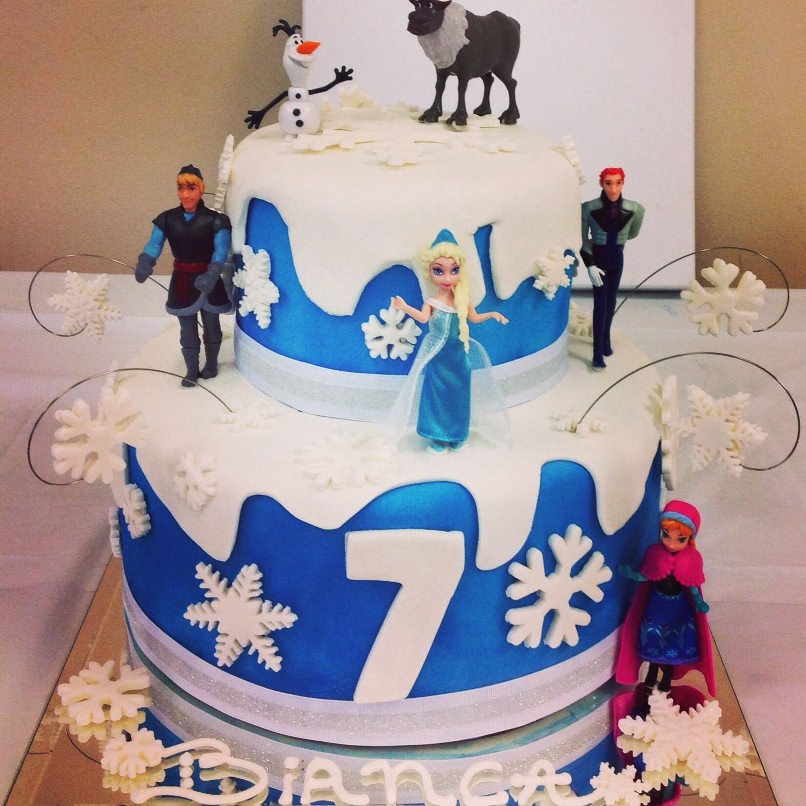 Cake Decorating Frozen Movie : Frozen Movie Cake Ideas 88669 Cakes For The Movie Frozen P