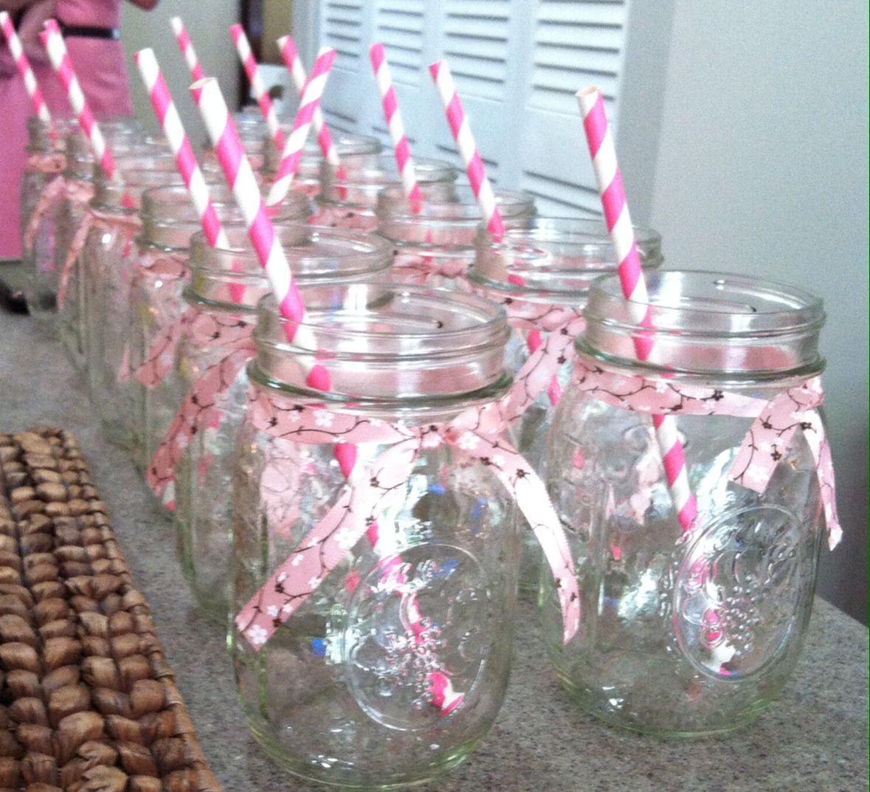 mason jars baby shower ideas pinterest