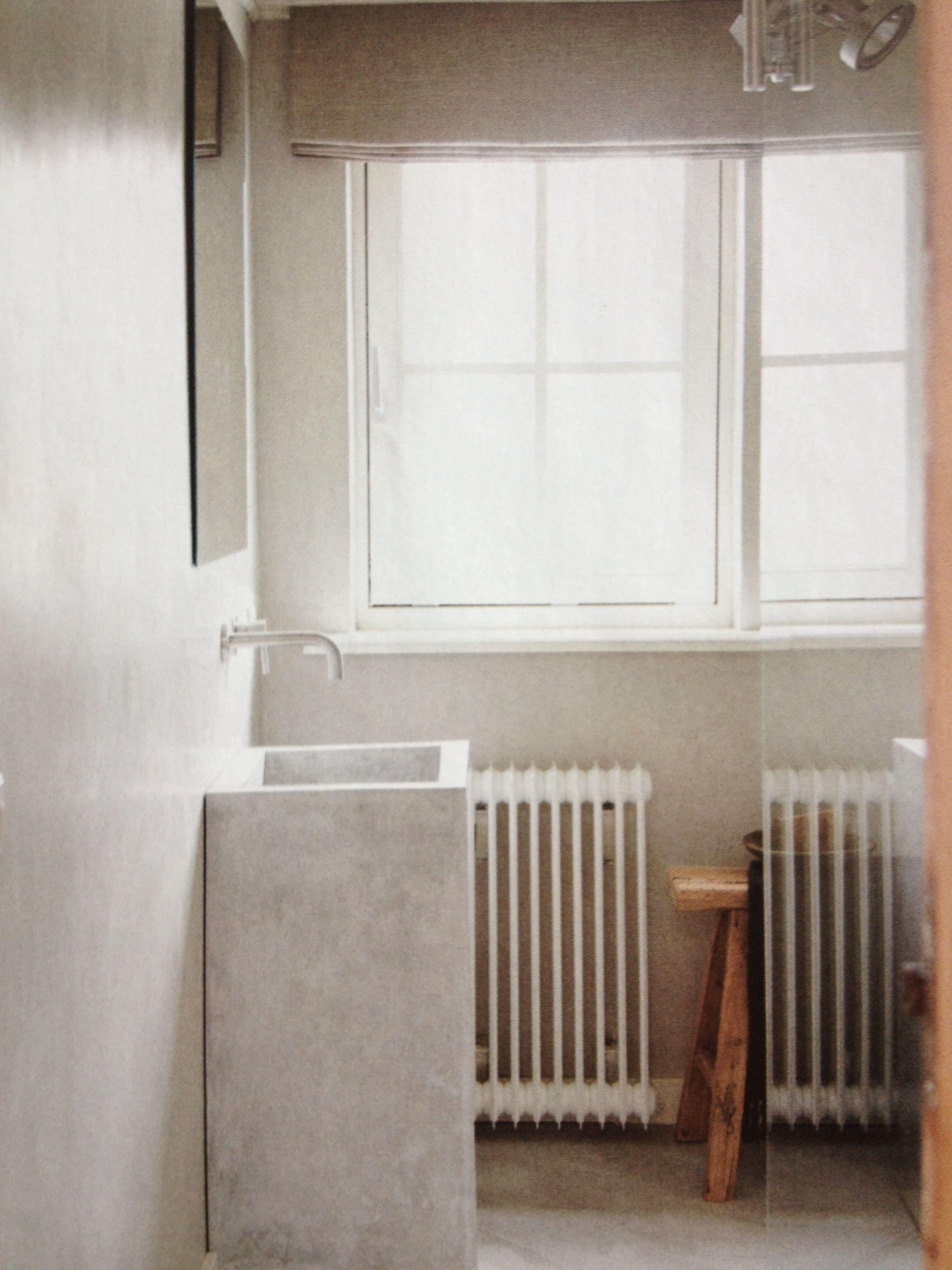 betonstuc voor badkamer brigee