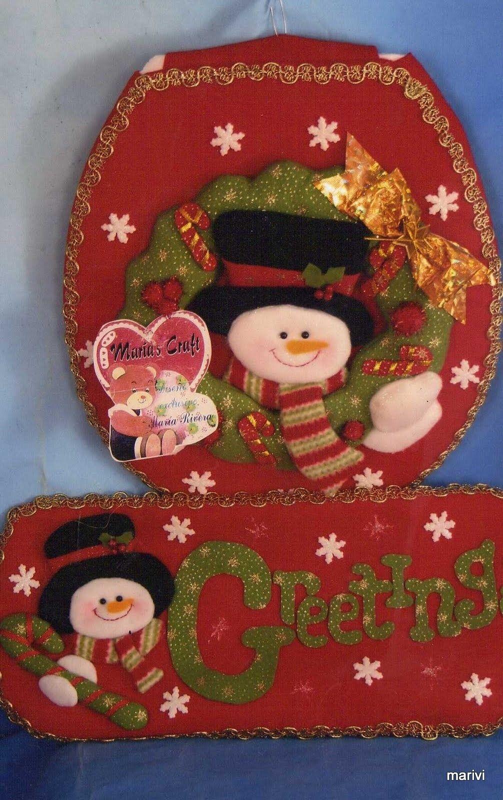 Juegos De Baño De Navidad:Juego de Baño Greetings- Snowan