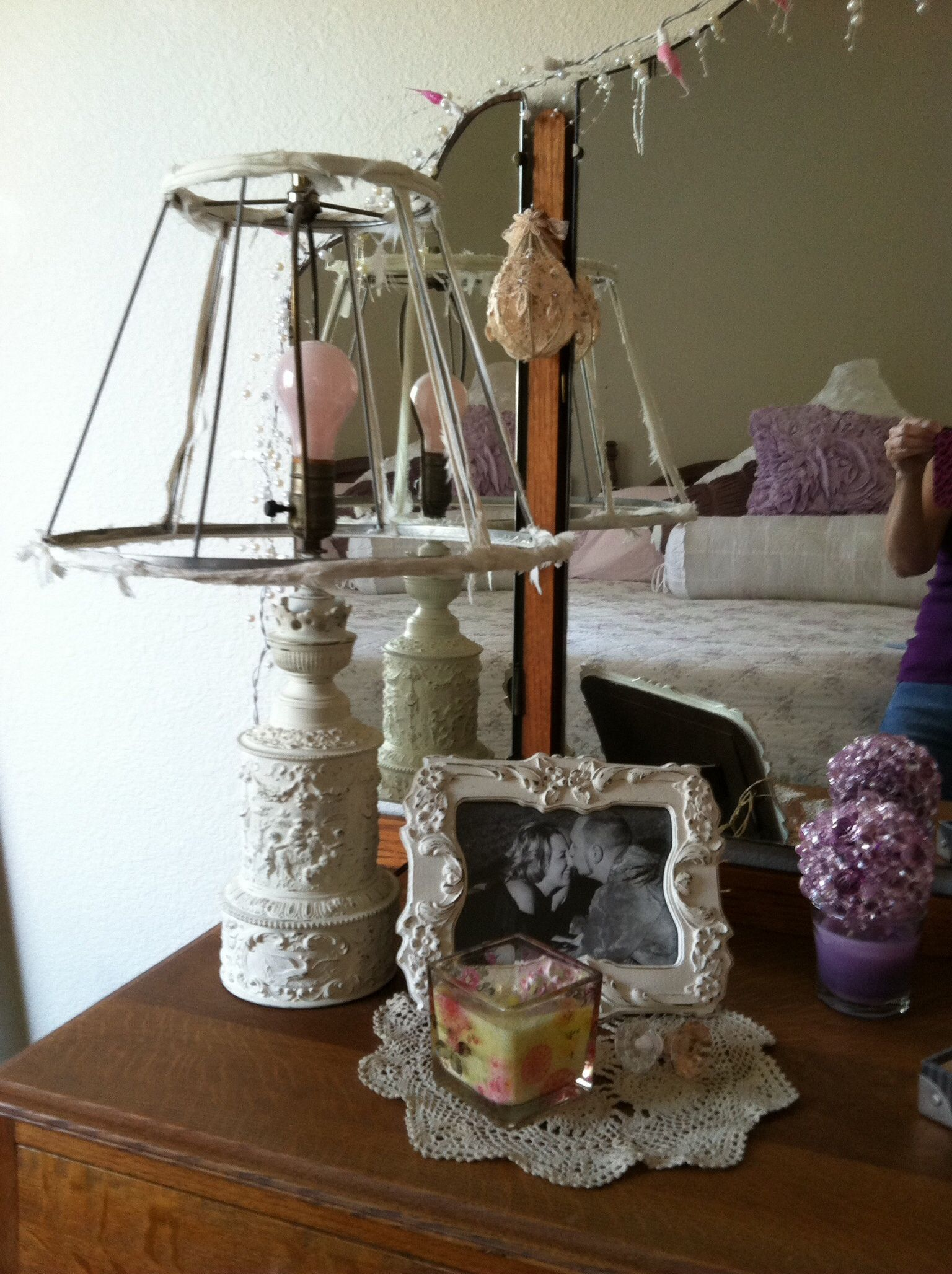 Love Lace Lavender My Shabby Chic Home Decor Pinterest