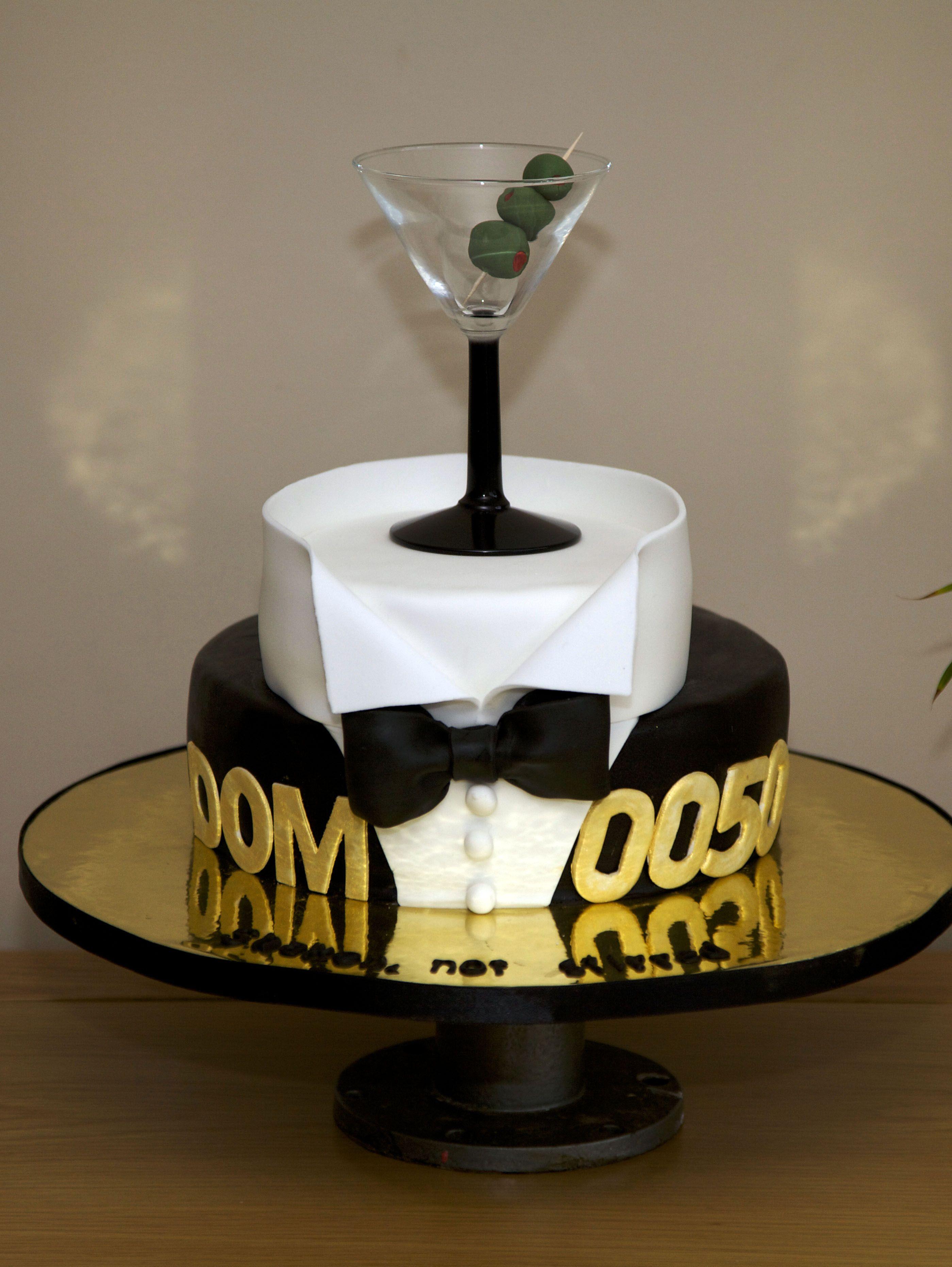 James Bond Cake Cakes Pinterest