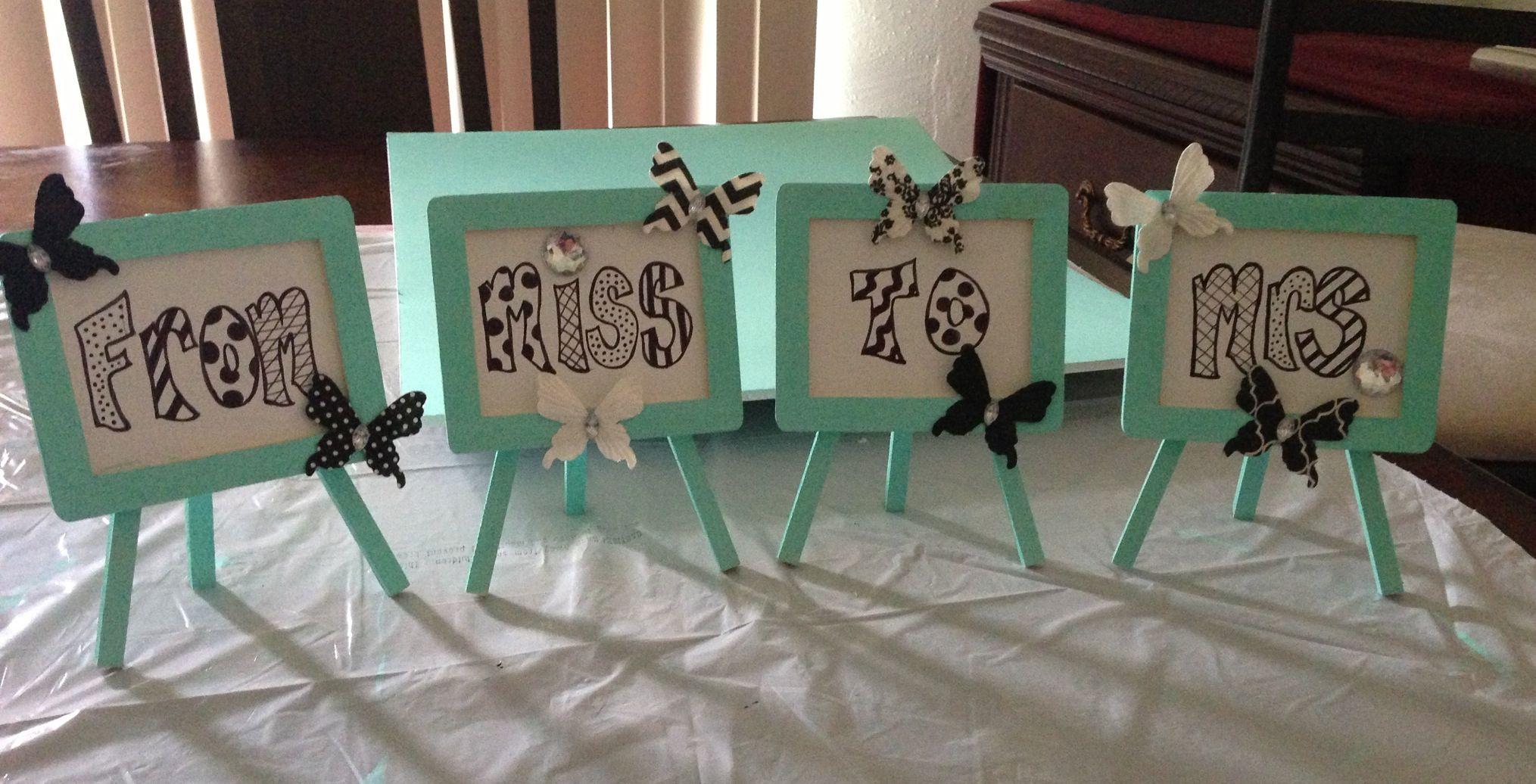Cute Wedding Shower Decorations : Wedding showers
