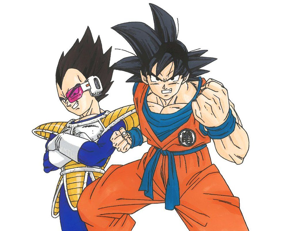 vegeta and goku become friends before dating