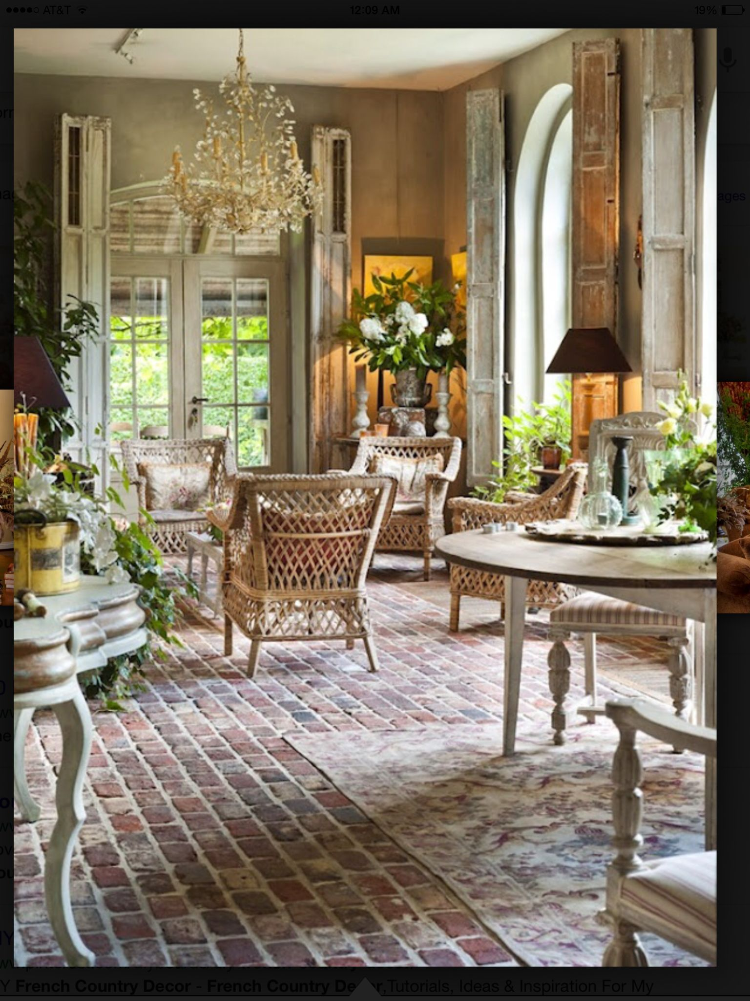 French Country Decorating 30 Ideas from the South of