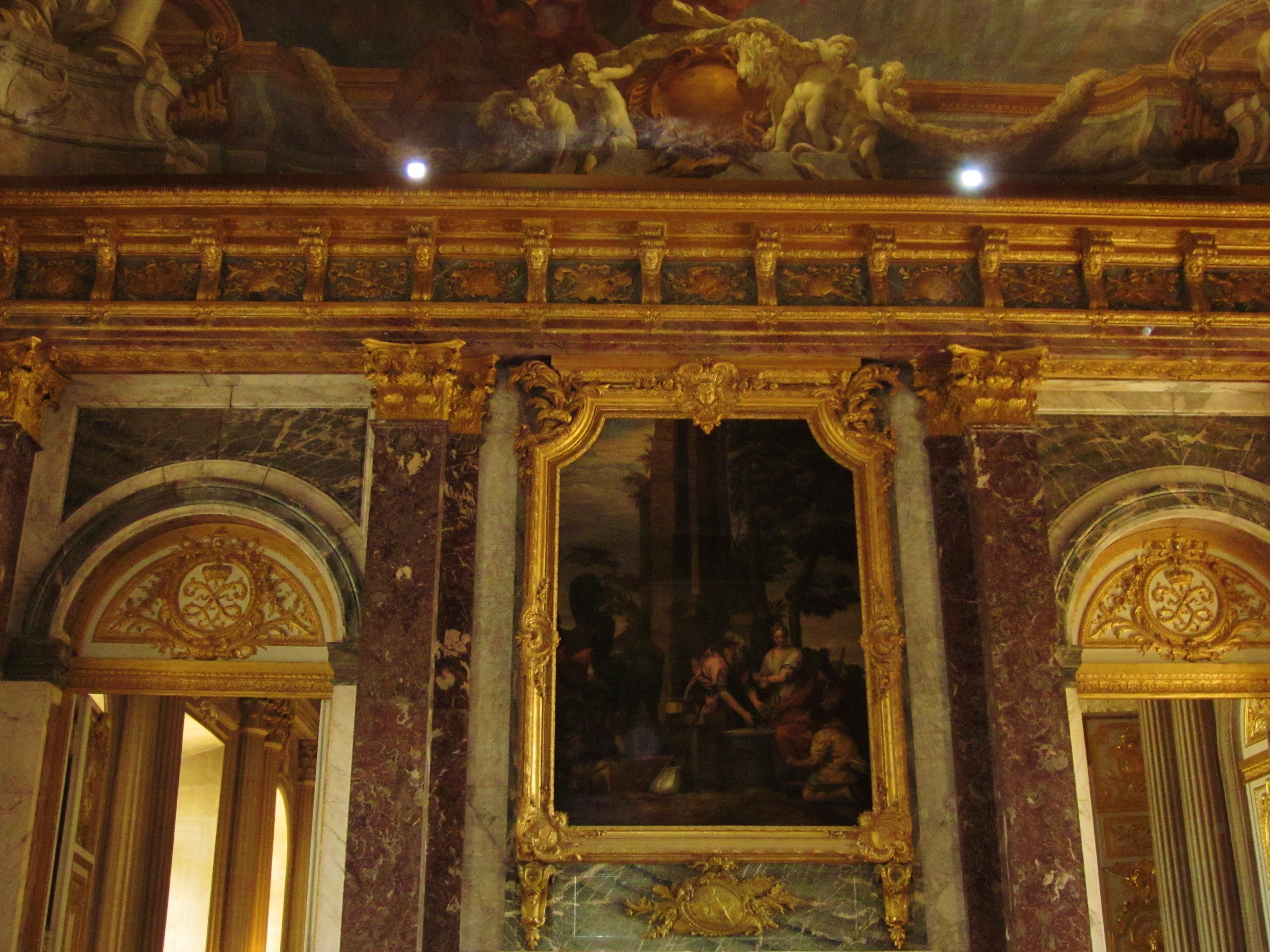 Inside Palace Of Versailles Paris La Ville Lumiere