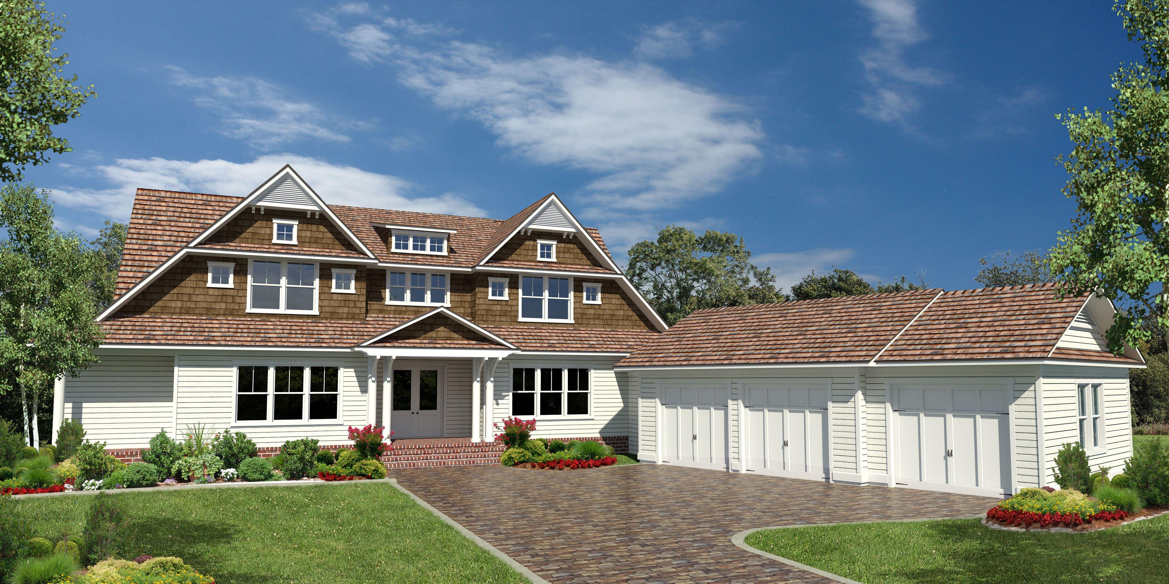 You dream we build corner lot custom homes pinterest for A e custom homes