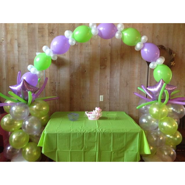 Purple And Green Baby Shower Baby Shower Ideas Pinterest