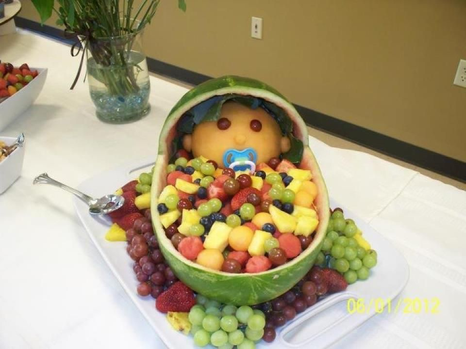 baby shower fruit tray recipe ideas pinterest