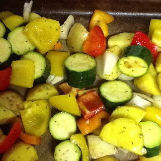Roasted veggies with rosemary olive oil | Favorite Recipes | Pinterest