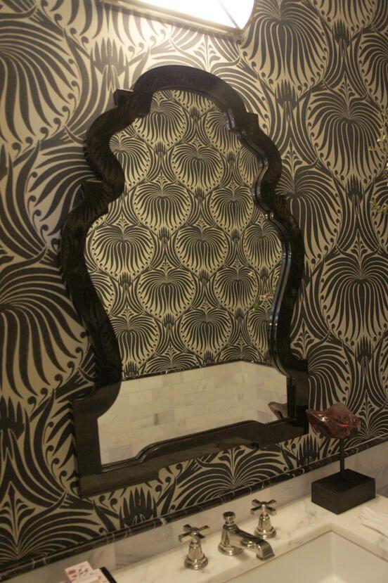 wallpaper like farrow and ball lotus