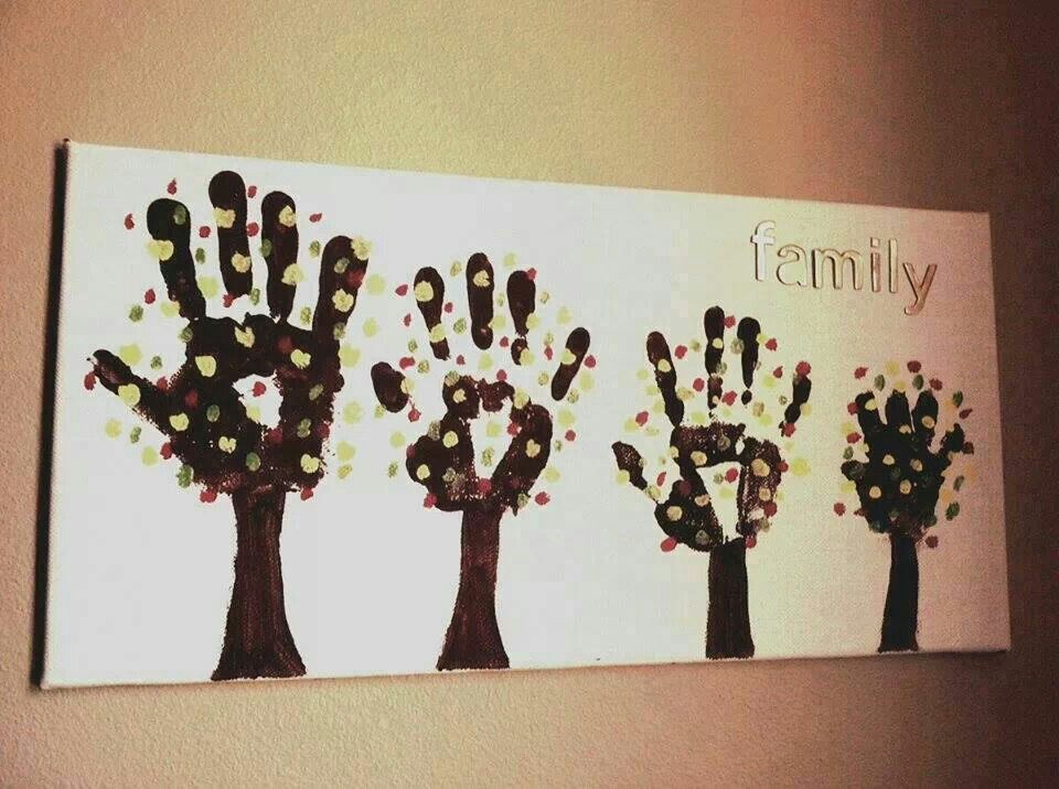 Family Wall Decor Diy : Another family tree wall art diy