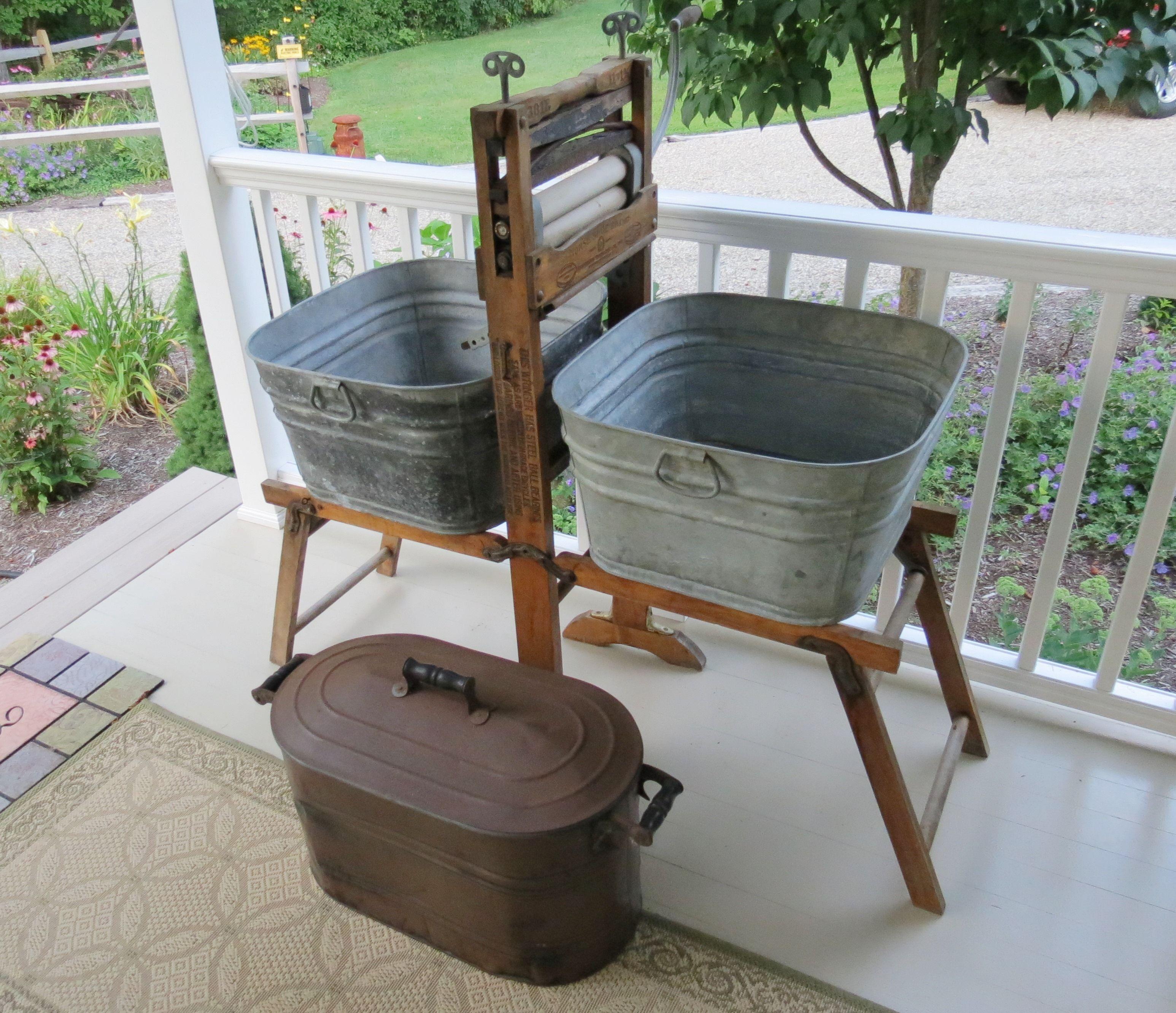Vintage Laundry Tub : My vintage laundry tubs GARDENING & YARD Pinterest