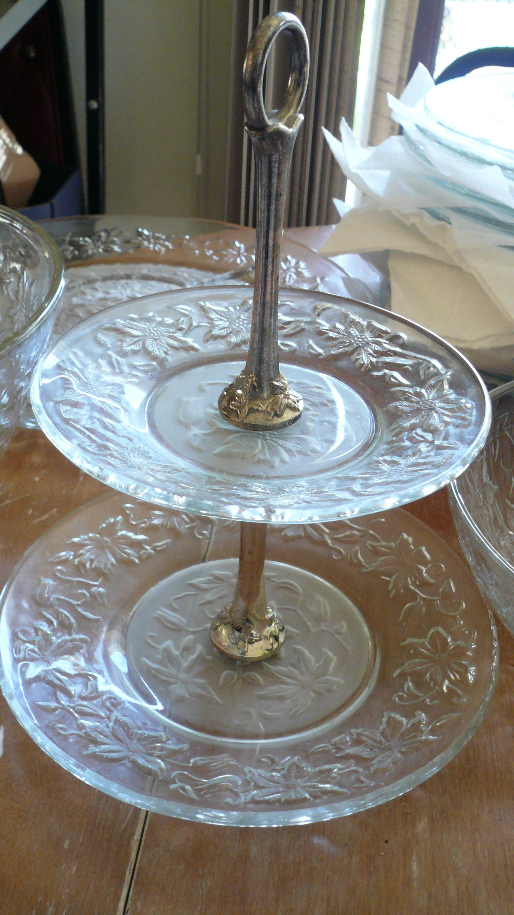 My Lovely Two Tier Serving Plate