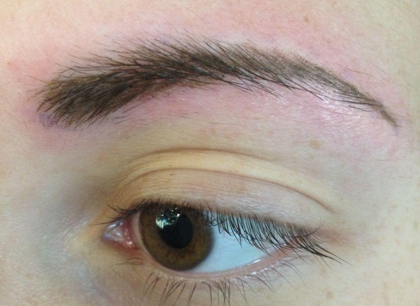 After permanent eyebrow procedure permanent pinterest s