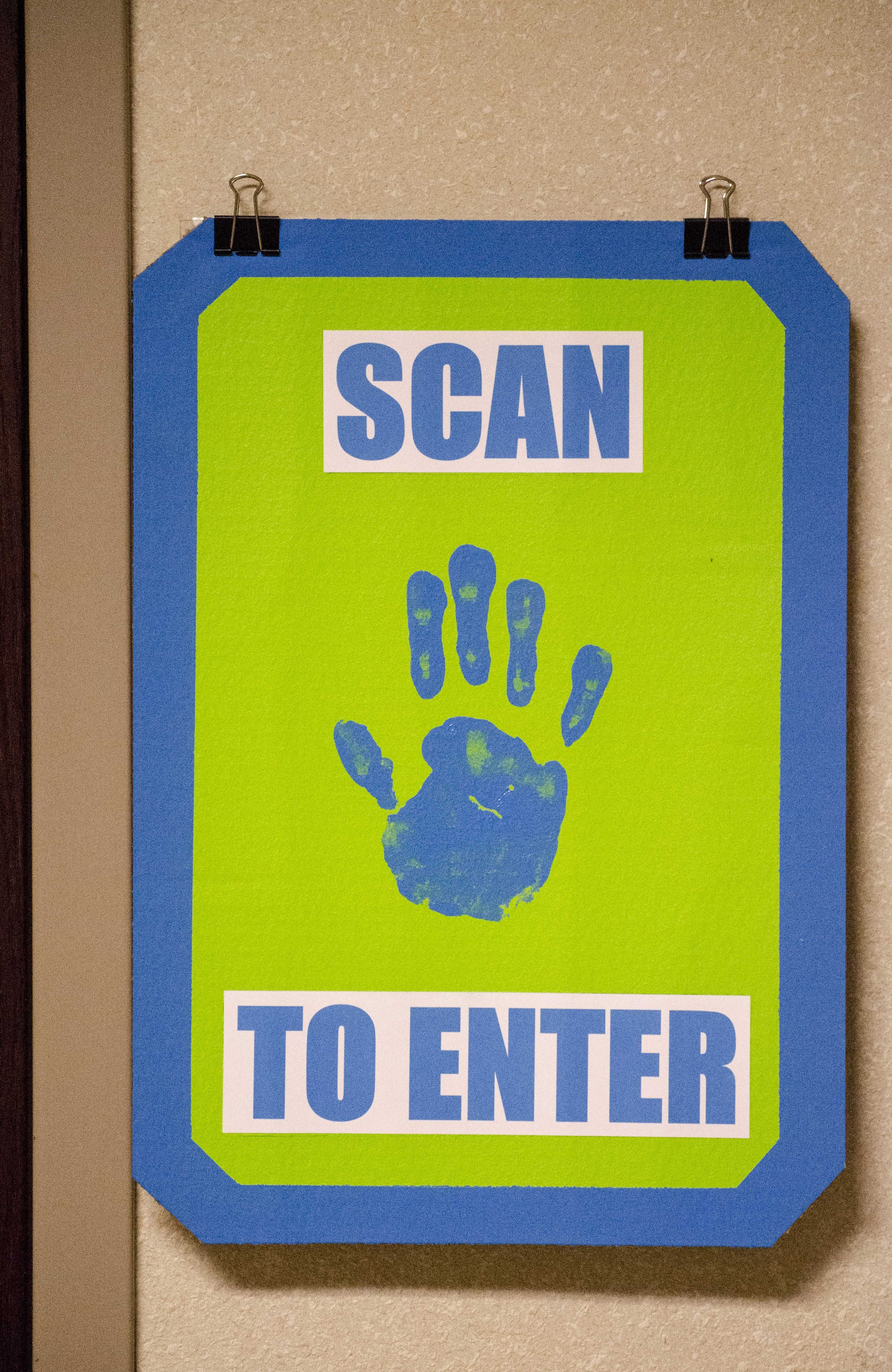 Scan your hand science theme back to school idea for Decor agency