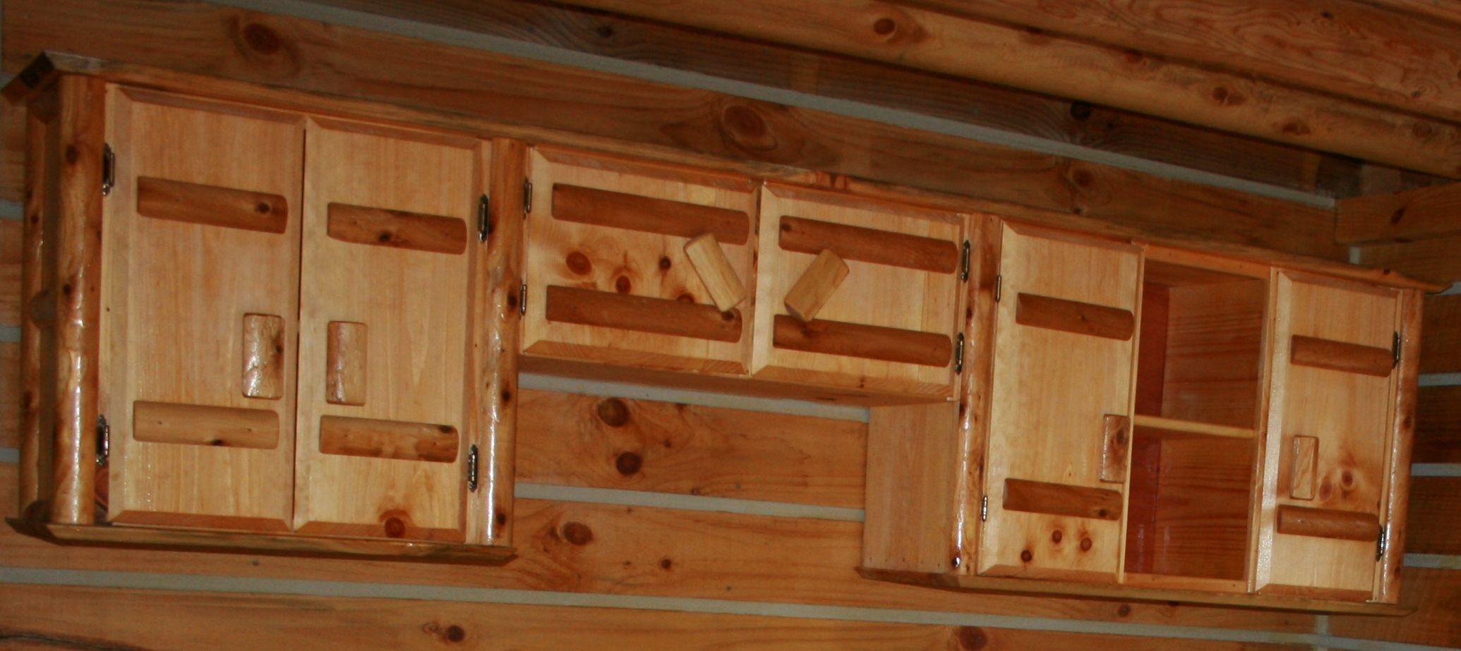 Amish Made Kitchen Upper Cabinets The Cabin And More Pinterest