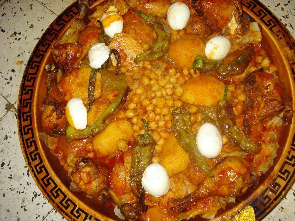 Chekhchoukha algerian cuisine pinterest for Algerien cuisine