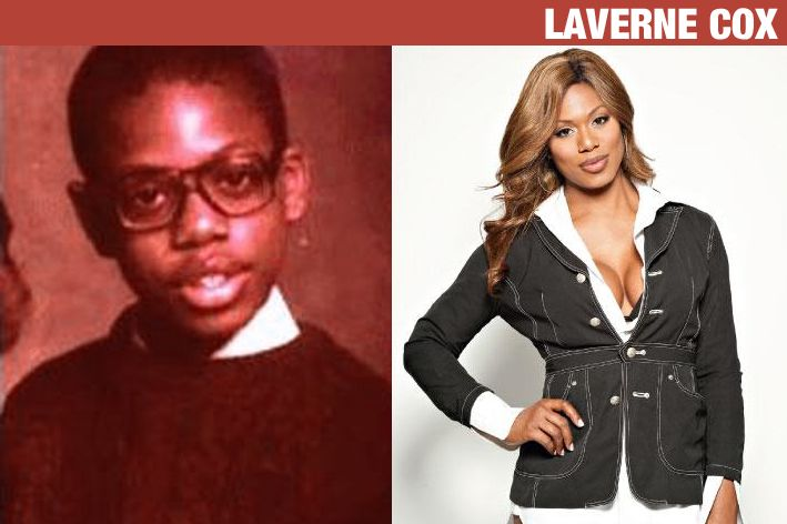 Laverne Cox Before After