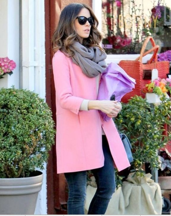 Cup Half Full: Powder Pink Winter Coat