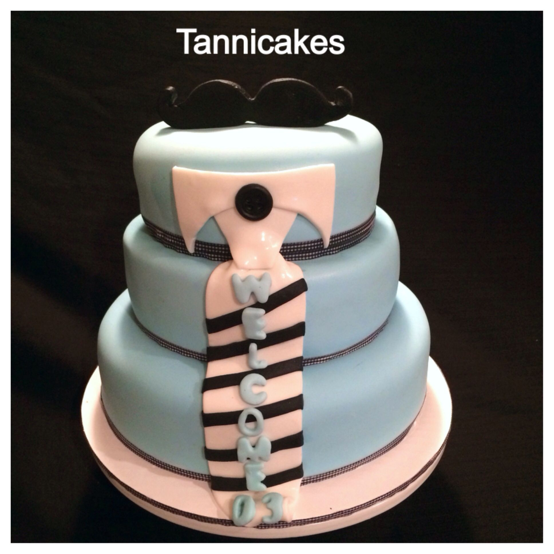 mustache themed baby shower cake tannicakes pinterest