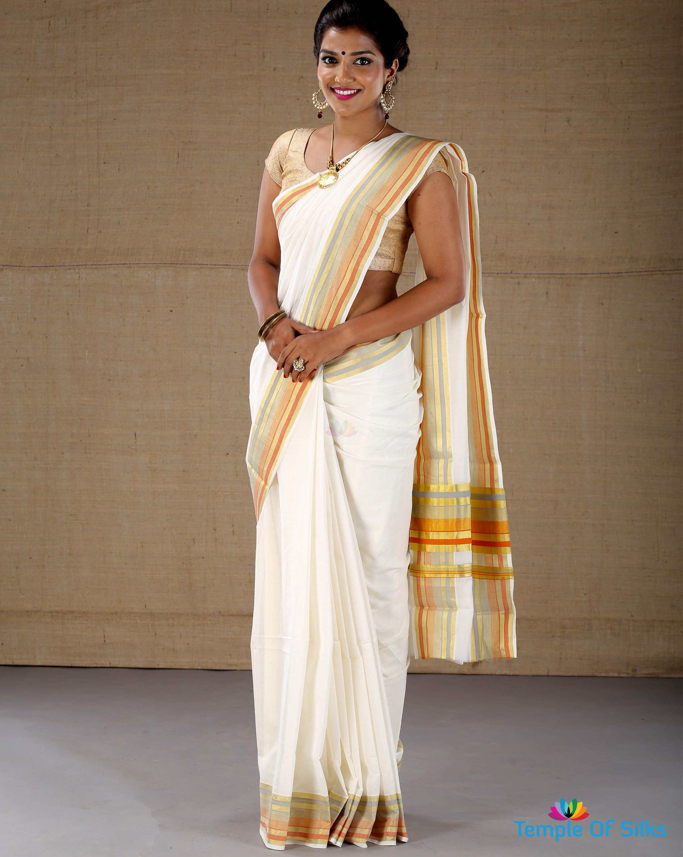 New fashion sarees in kerala 98
