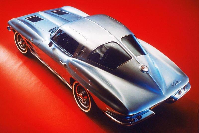 Silver 63 split window corvette pinterest for Corvette split window 63