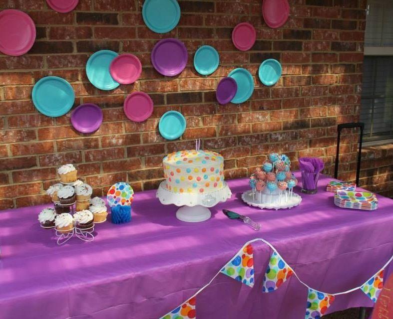 Polka dot birthday party birthday ideas pinterest for Polka dot party ideas