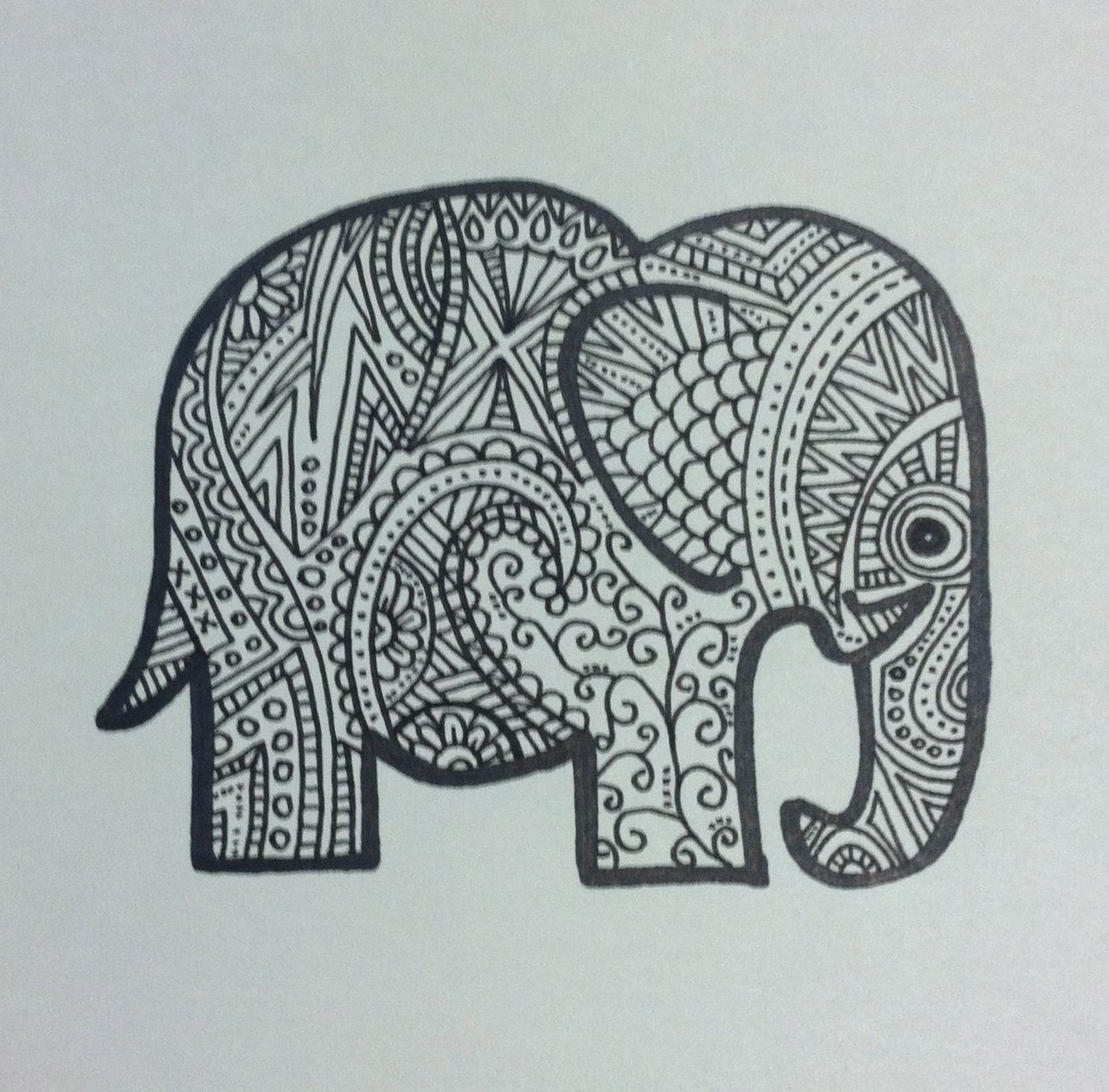 elephant designs tumblr - photo #20